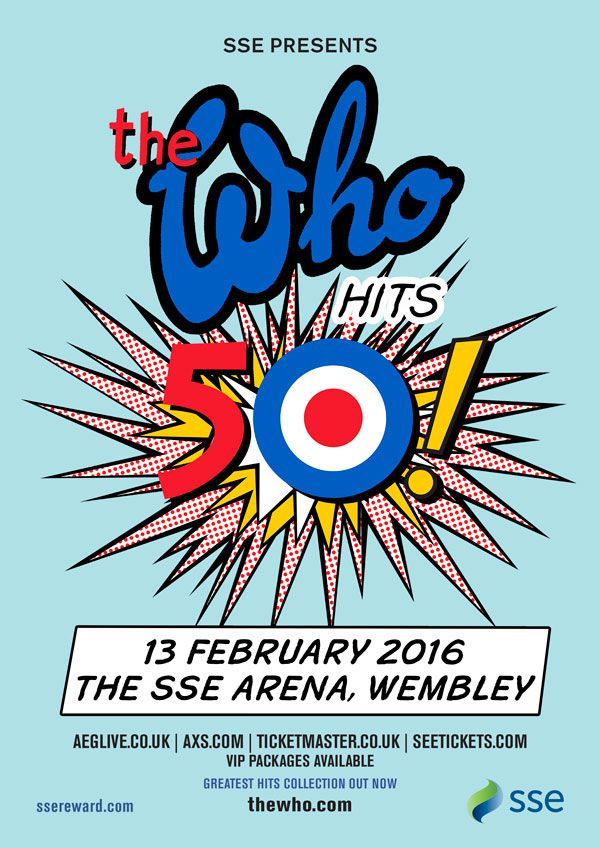 The Who at Wembley Arena